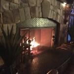 Johnny Manhattan's fireplace