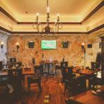 wine room at Johnny Manhattan's
