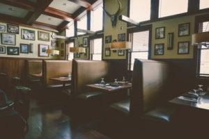 dining room at Johnny Manhattan's